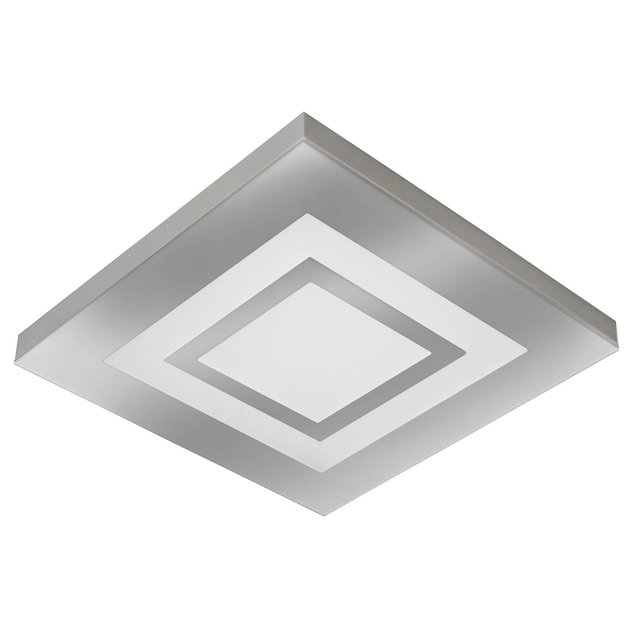 PLAFON LED ROMA 25W 6500W ESPELHADO - TUALUX