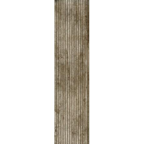 PORCELANATO DEMOLIÇÃO FRISADO ACETINADO RÚSTICO 28,8x1,19cm - CEUSA