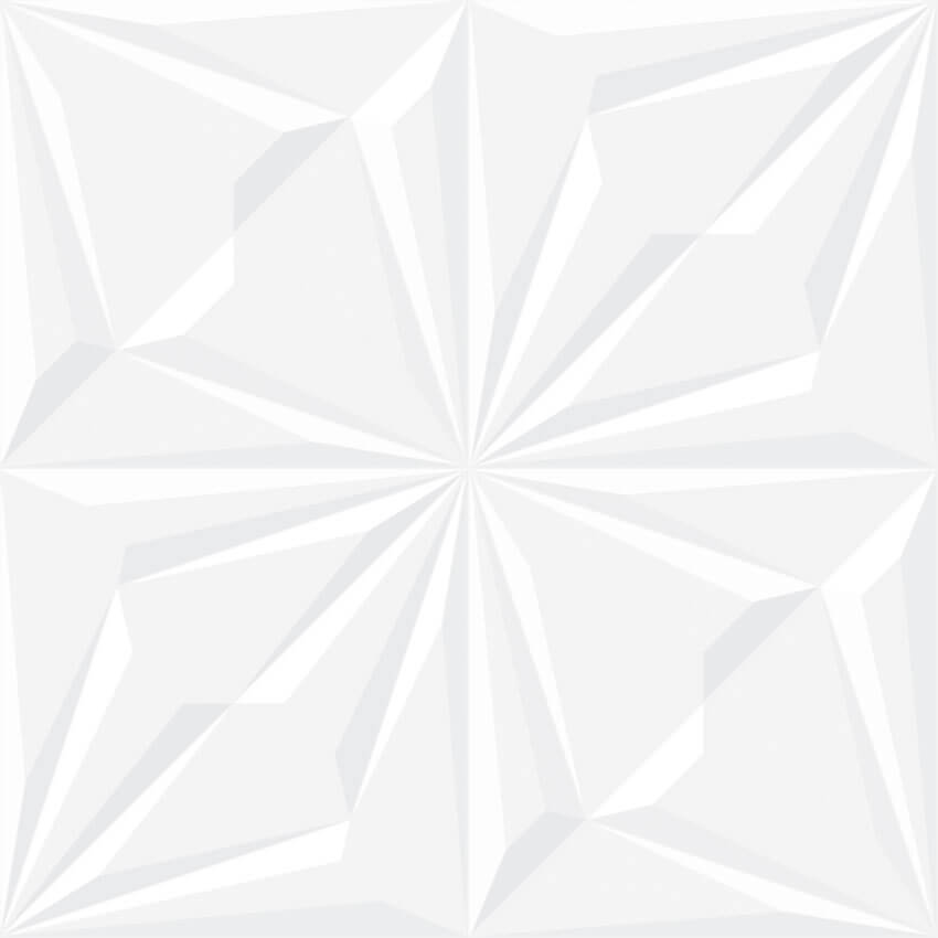 PORCELANATO INTERNO BIANCO ROYAL 61X61CM - REALCE