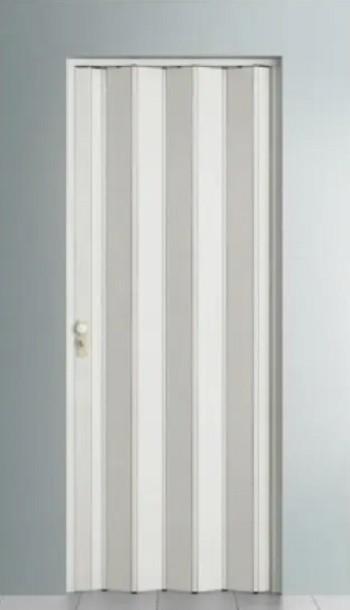 Porta Sanfonada Fechadura BCF Branca 0,72cm x 210cm Branca - BCF
