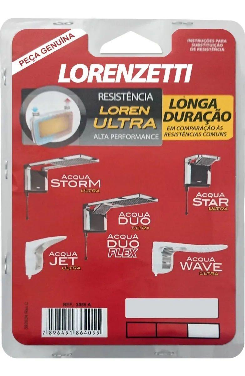 Resistência Lorenzetti Ducha Acqua Ultra Star Jet Duo Storm-127