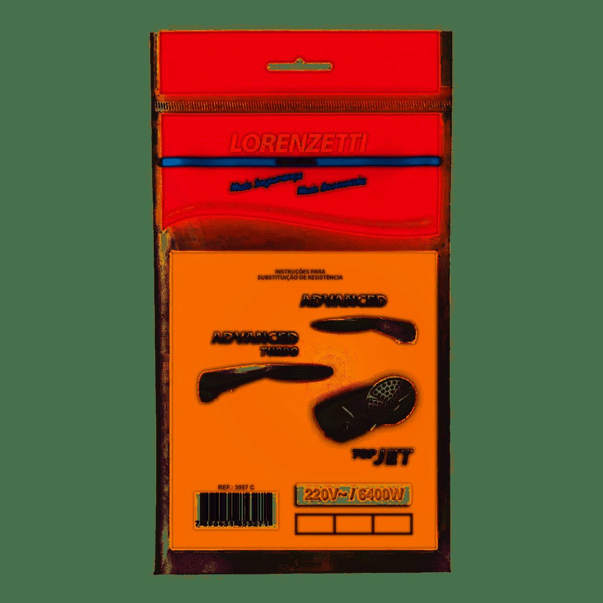 RESISTÊNCIA MULTI. ADVANCED/ADVANCED TURBO/TOP JET/TOP JET TURBO 220V 6400W - LORENZETTI