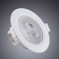 SPOT EMBUTIR LED REDONDO 5W 3000K LUZ AMARELA - STARTEC