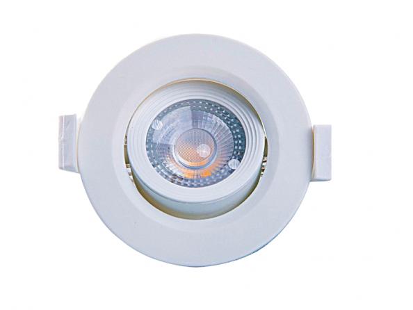 SPOT LED ALLTOP MR11 3W 6500K LUZ FRIA REDONDO - TASCHIBRA