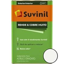 TINTA ACRÍLICA RENDE & COBRE MUITO FOSCO 18LT EXTERIOR/INTERIOR - SUVINIL