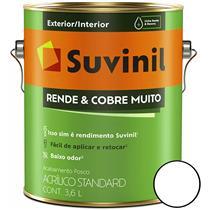 TINTA ACRÍLICA RENDE & COBRE MUITO FOSCO 3,6L EXTERIOR/INTERIOR - SUVINIL