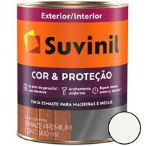 TINTA ESMALTE ACETINADO SINTÉTICO COR E PROTEÇÃO 900ML PARA MADEIRA/METAL - SUVINIL