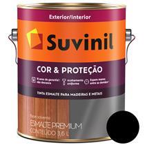 TINTA ESMALTE FOSCO SINTÉTICO COR E PROTEÇÃO 3,6LT PARA MADEIRA/METAL - SUVINIL