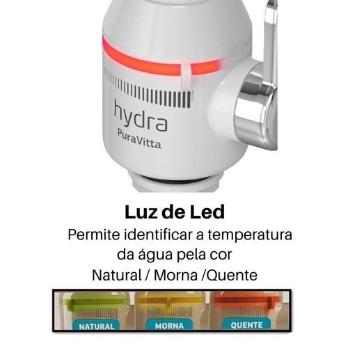 TORNEIRA PURAVITTA PAREDE ELETRÔNICA C/ PURIFICADOR 220V 5500W - HYDRA
