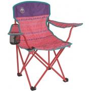 Cadeira Coleman Dobrável Infantil Suporta até 72,57 Kg - Rosa
