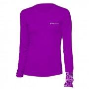 Camisa Proteção Solar Feminina - Lilás