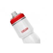 Garrafa Camelback Podium Chill 0,71L Branco e Vermelho
