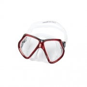 Máscara de mergulho Omniview Bestway - Vermelho
