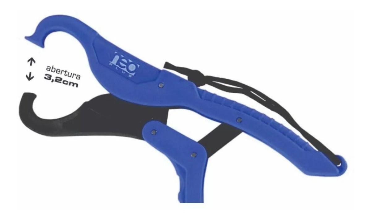 Alicate de Contenção Neo Plus Fishing Grip Azul
