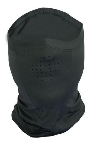Bandana Buff Máscara Proteção Facial UV Faca na Rede - Ice Mask Cinza