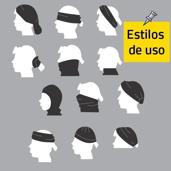Bandana Nautika Marino Proteção UV 50+