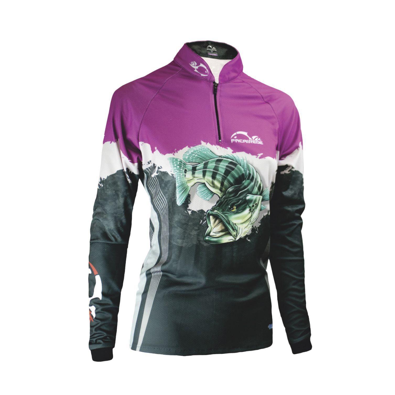 Blusa Faca na Rede c/ Proteção UV Evo Girl - Tucunaré