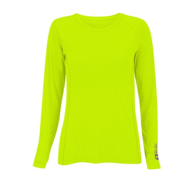 Blusa Feminina Prolife Explorer Repelente de Insetos UV - Amarelo