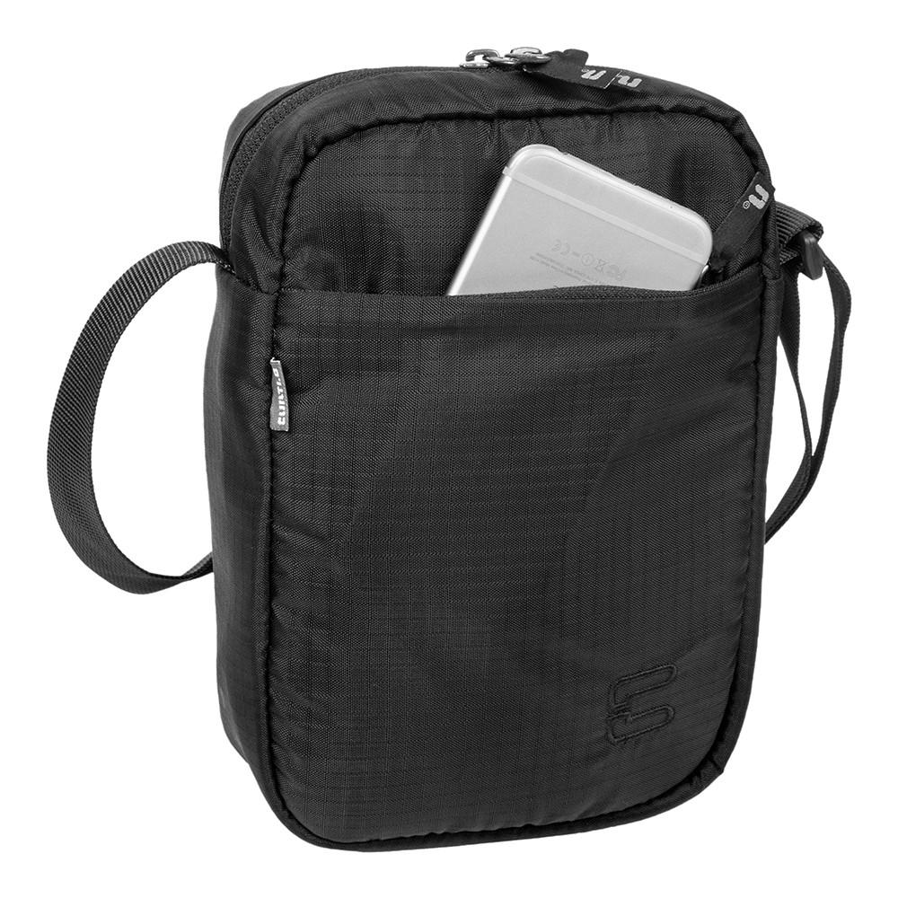 Bolsa Curtlo Mini 2L C/ Porta Celular - Preto