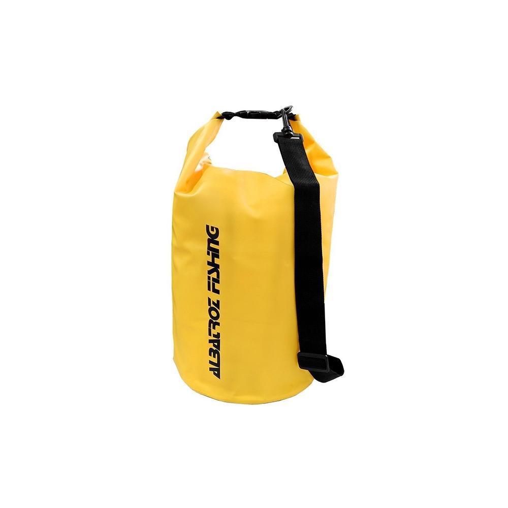 Bolsa Impermeável Albatroz Fishing Camp Bag Amarela 10 Litros