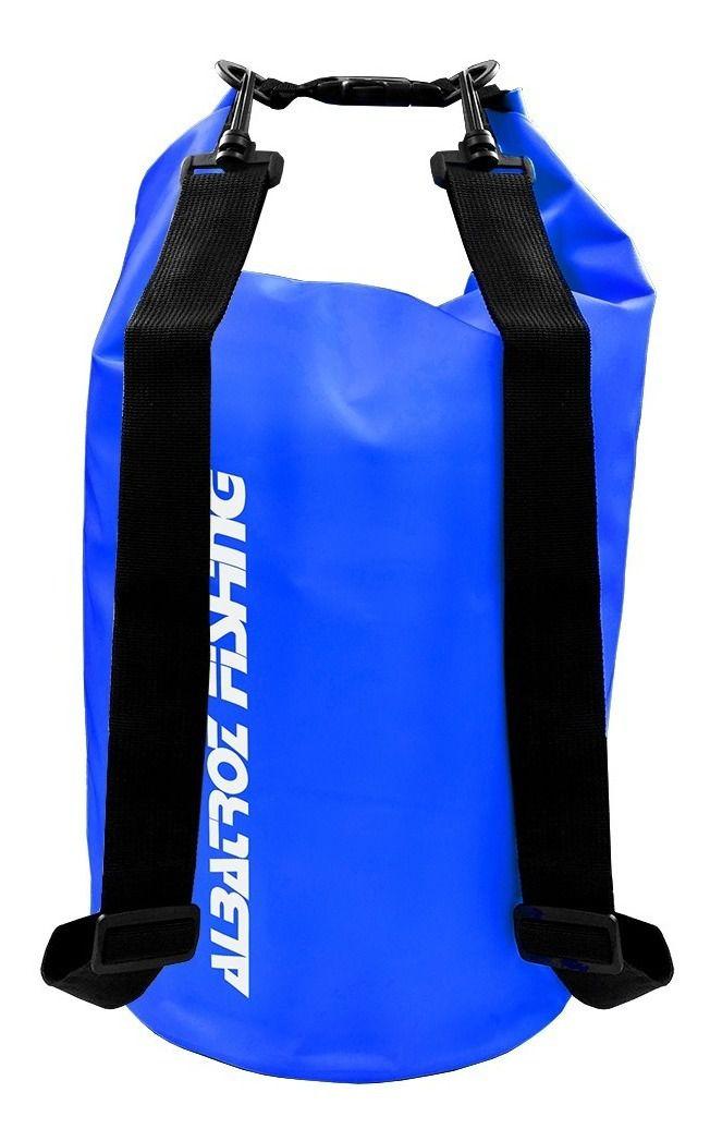 Bolsa Impermeável Albatroz Fishing Camp Bag Azul 10 Litros