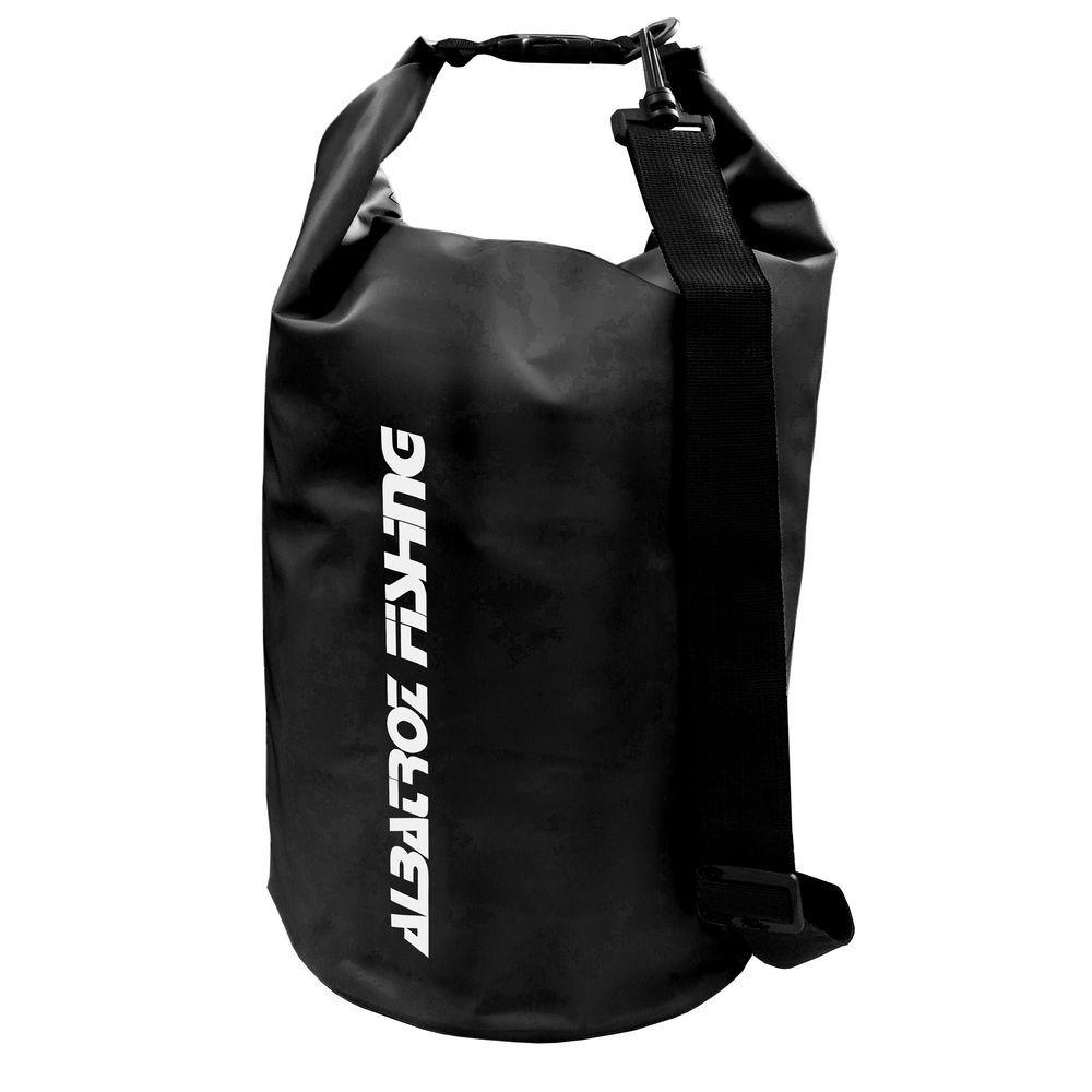 Bolsa Impermeável Albatroz Fishing Camp Bag Preta 30 Litros