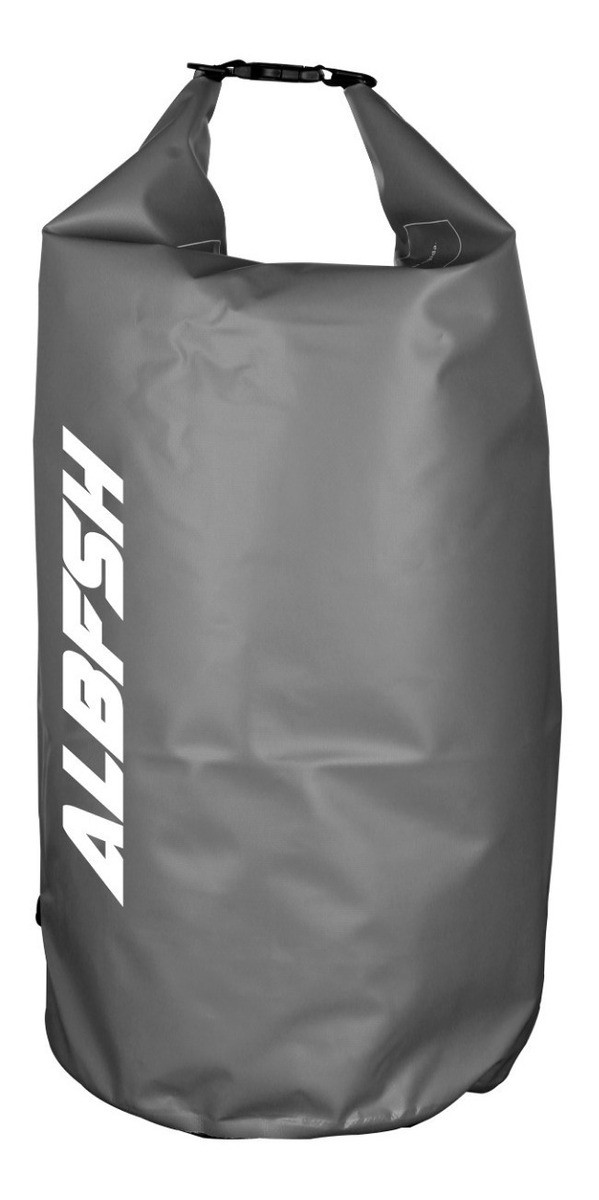 Bolsa Impermeável Albatroz Fishing Camp Bag Cinza 50 Litros