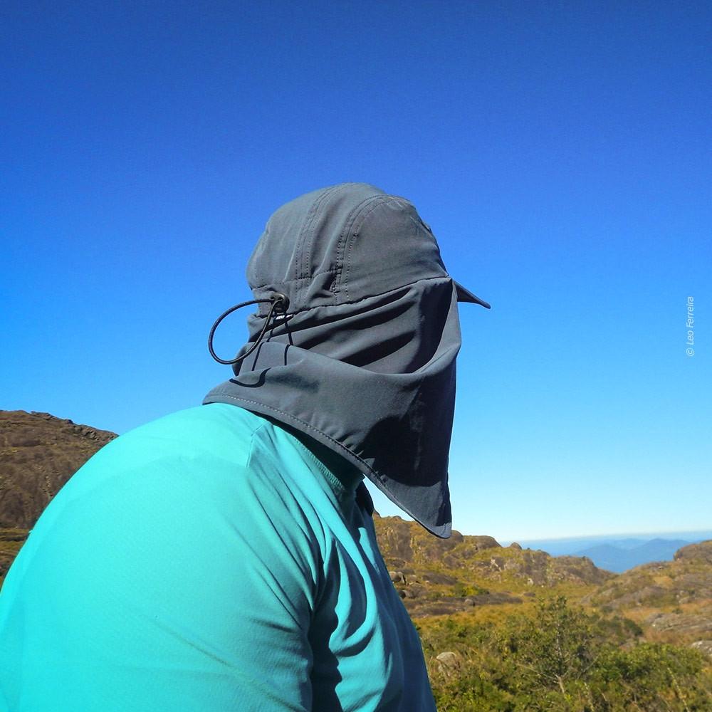 Boné Curtlo Expedition EC50+ Proteção Solar - Chumbo