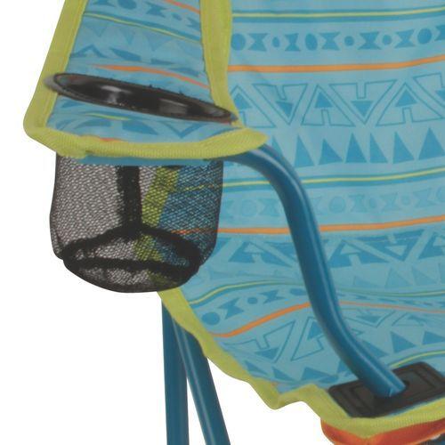 Cadeira Coleman Dobrável Infantil Suporta até 72,57 Kg- Verde