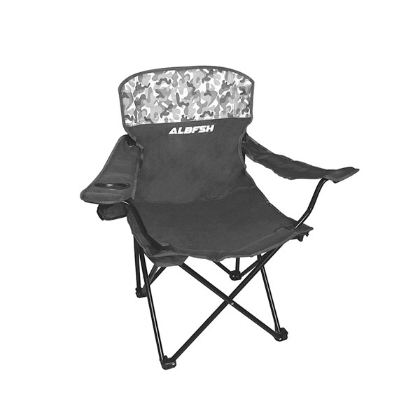 Cadeira de Pesca e Camping Albatroz Fishing HBA-23MH C/ Apoio De Braço