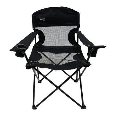 Cadeira Dobrável Nautika Camping Fresno - Preta