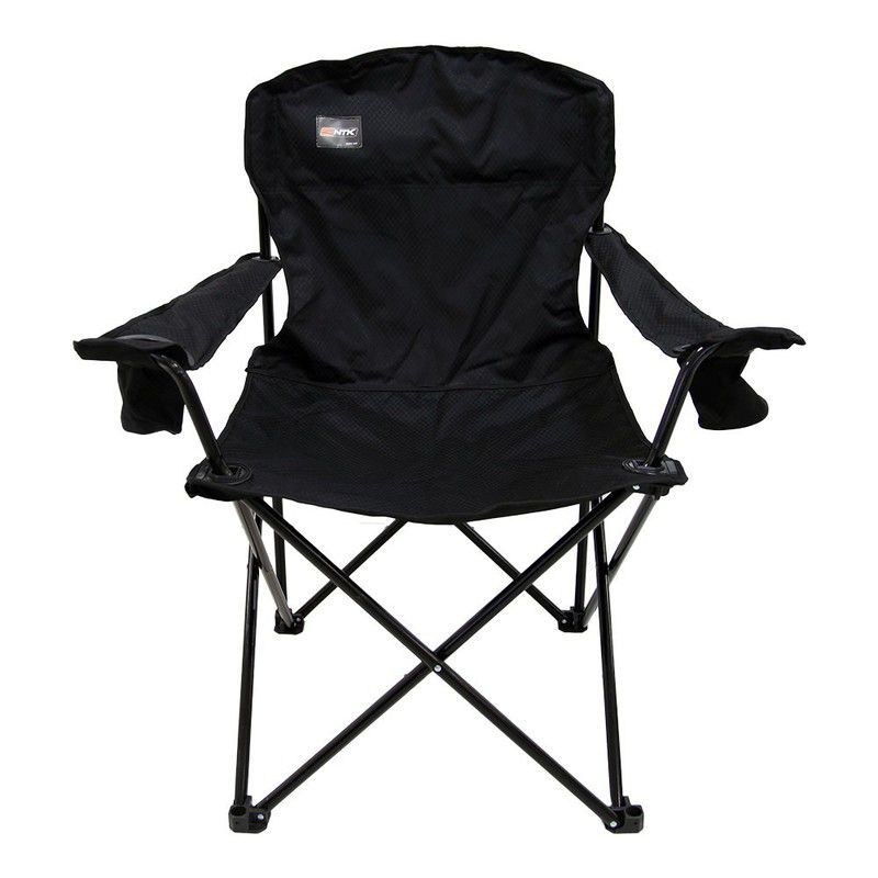 Cadeira Dobrável Portátil Nautika Pandera Preta