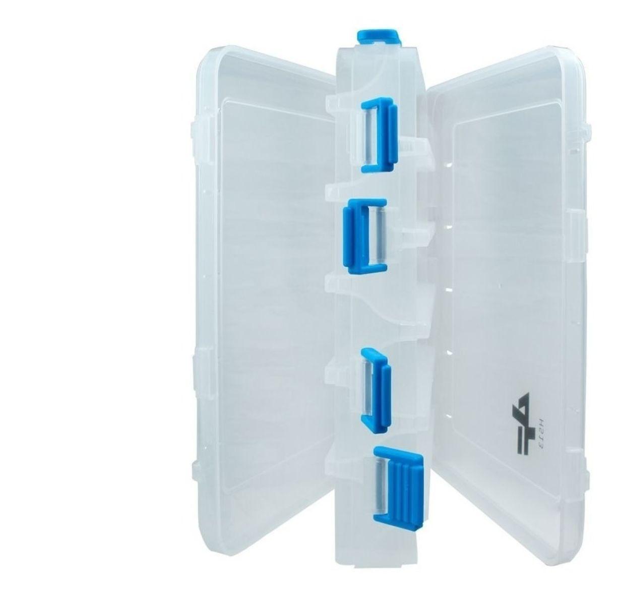 Estojo Plástico Organizador Albatroz Fishing Transparente H513