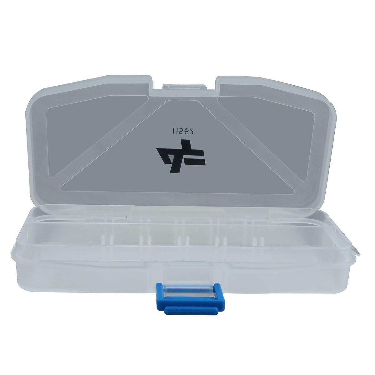 Estojo Plástico Organizador Albatroz Fishing Transparente H562