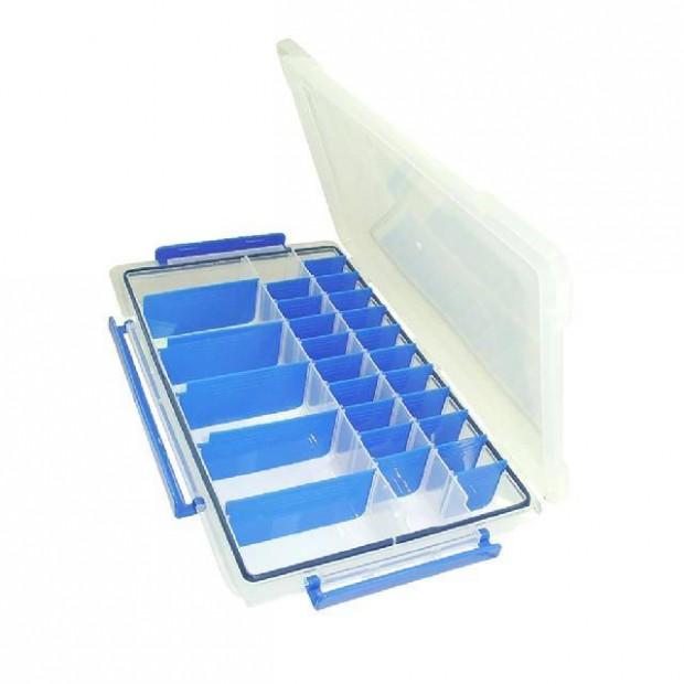 Caixa Plástica Organizadora Marine Sports Transparente 405 para Isca Artificial