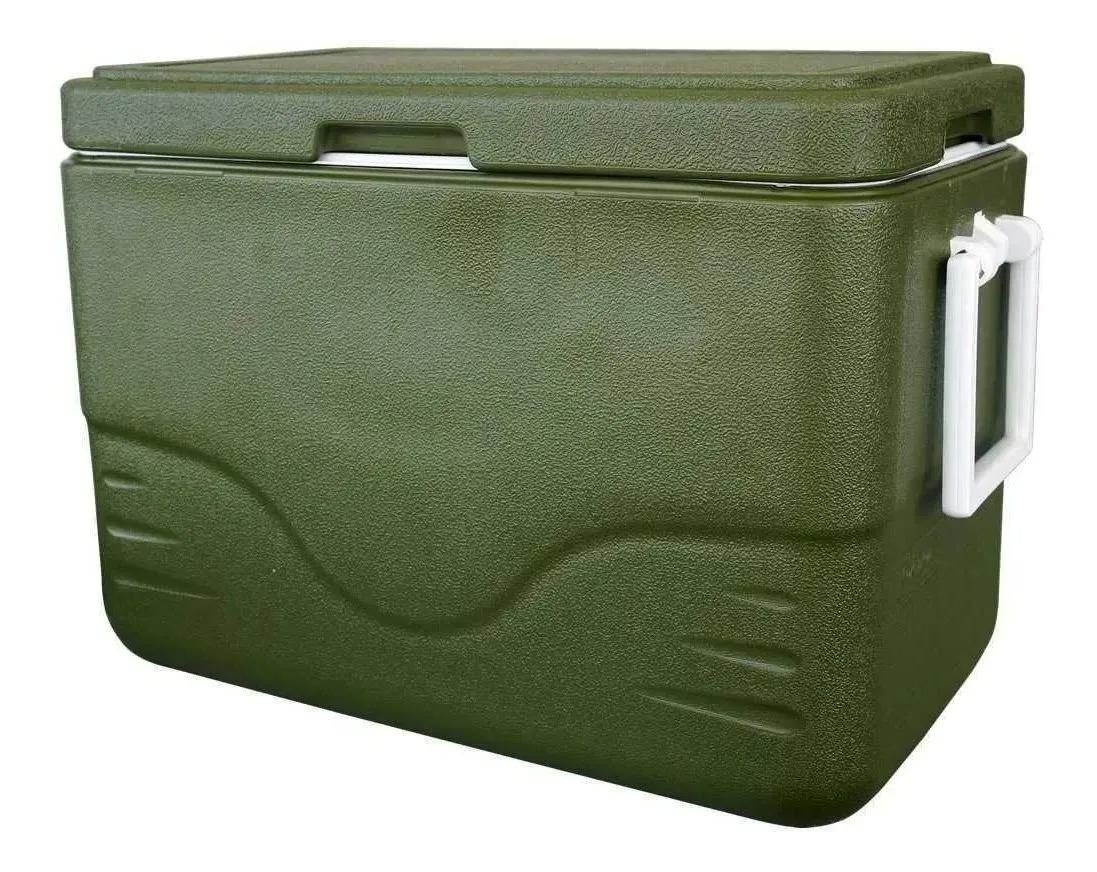 Caixa Térmica Coleman 28QT (26,5 L) C/ Alças Laterais - All Green