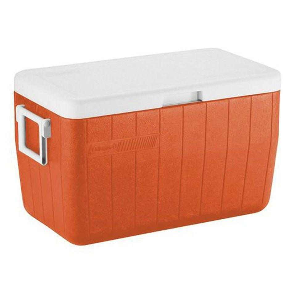 Caixa Térmica Coleman 48QT 45,4L Tangerine Tango