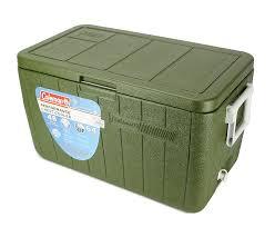 Caixa Térmica Cooler Coleman 48 QT/45,4 L All Green