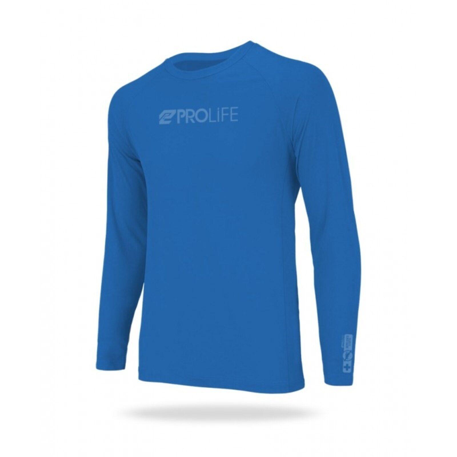 Camisa Repelente de Insetos e Proteção UV Prolife Masculina - Azul