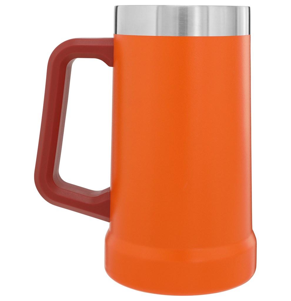 Caneca Térmica de Cerveja Stanley Signal Orange 709ml