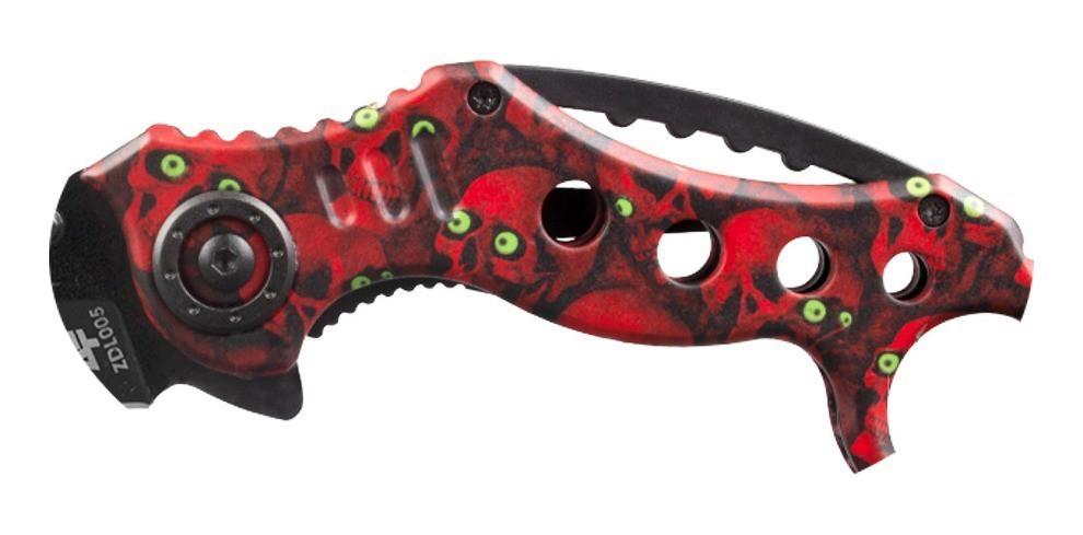 Canivete Albatroz Fishing ZDL005 Vermelho