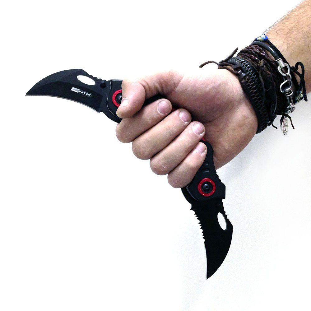 Canivete Tático Diablo Nautika