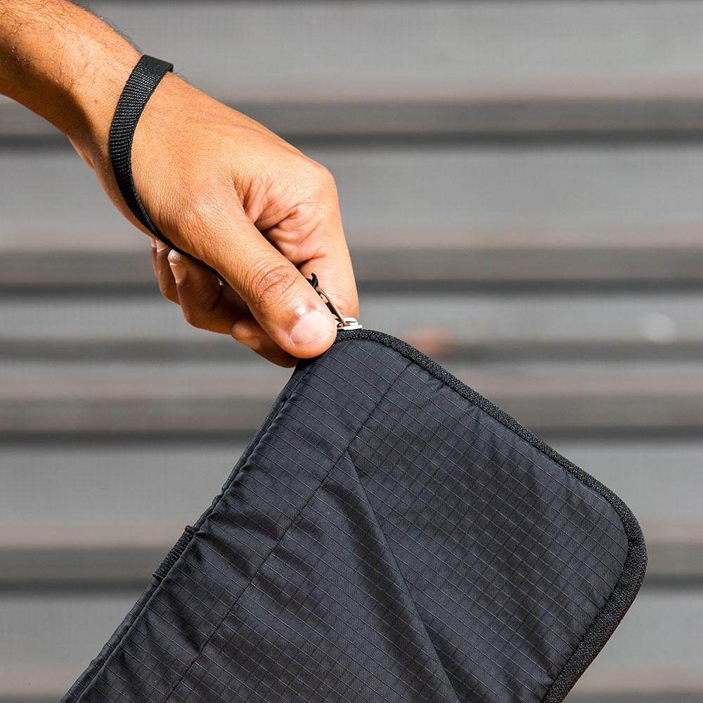 Carteira Curtlo Trip Wallet C/ Zíper Invertido