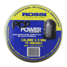 Chumbinho Rossi PCP Power 5,5m - 75 Unidades