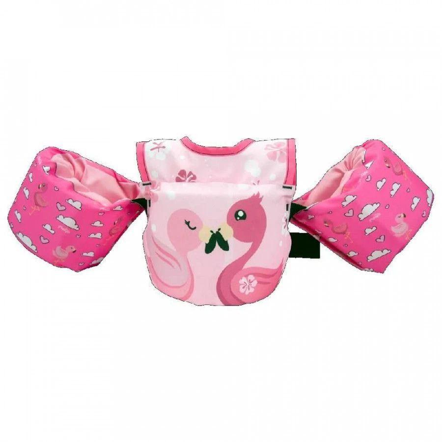 Colete Salva Vidas Infantil Prolife Kids Flamingo