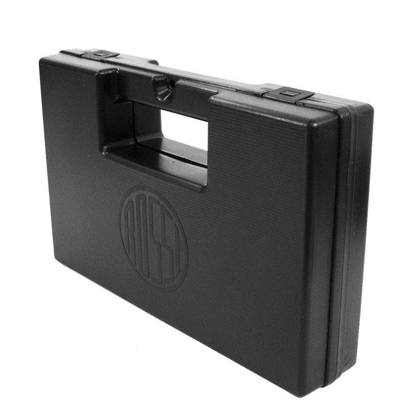 Combo Pistola de Pressão KWC 24/7 CO²  4,5 mm + Maleta Plástica Preta Com Logo Rossi