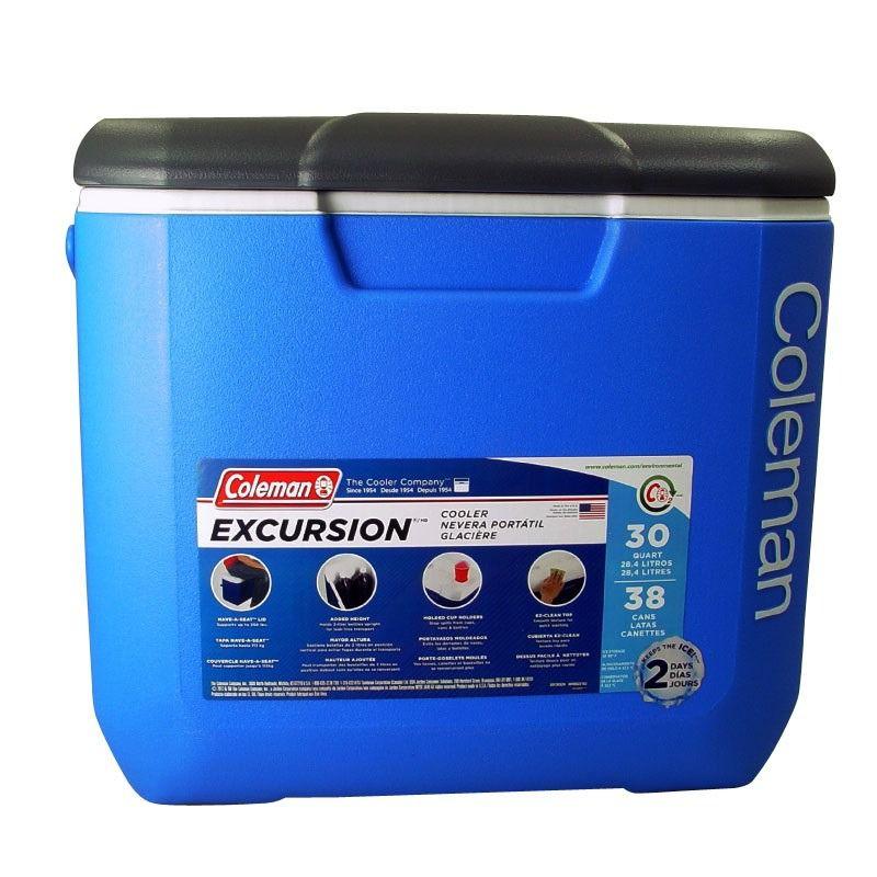 Caixa Térmica Cooler Coleman Excursion 30 quart