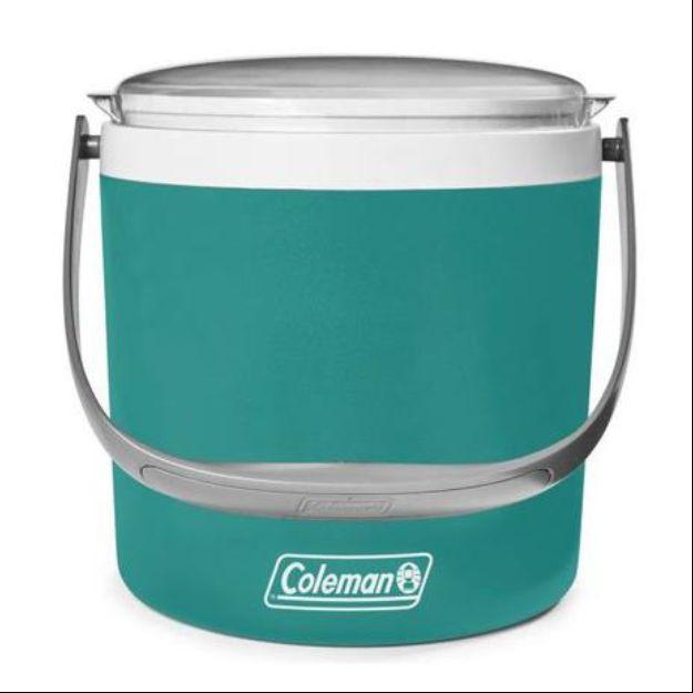 Cooler Térmico Coleman Circle Verde 8,5L C/ Alça De Transporte