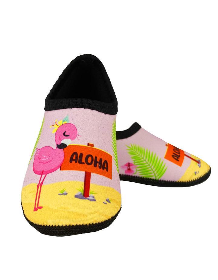 Sapatilha Térmica Vopen Infantil Neoprene - Flamingo