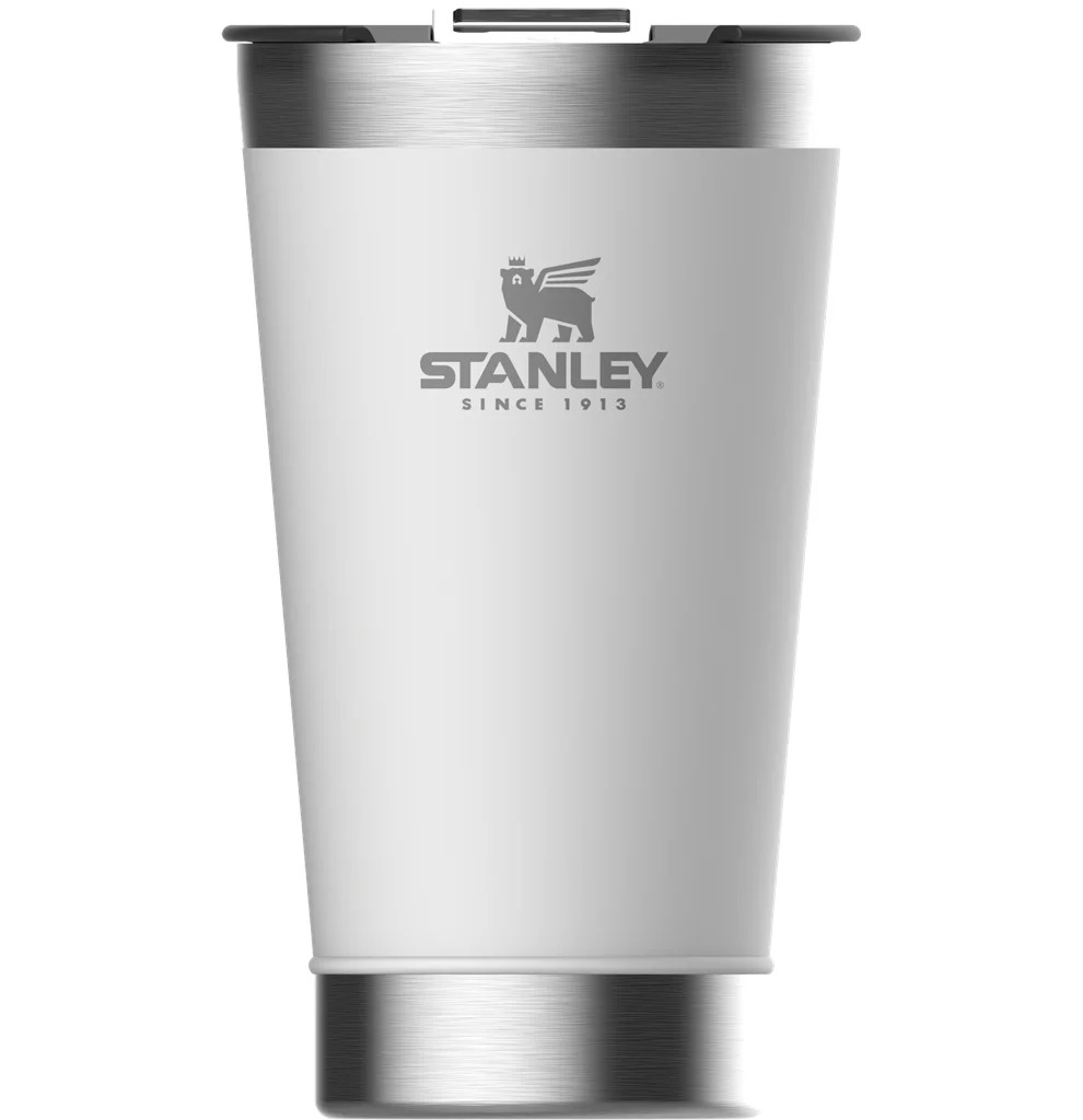Copo Térmico Stanley 473Ml - Branco C/ Tampa